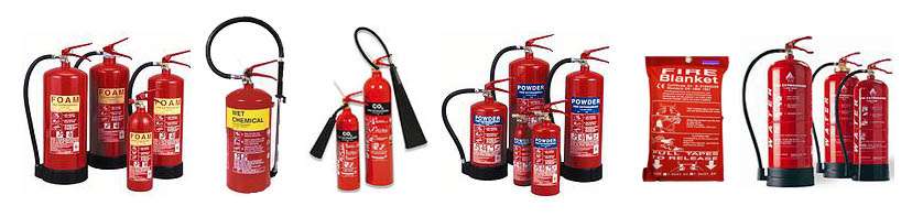 extinguishers-various
