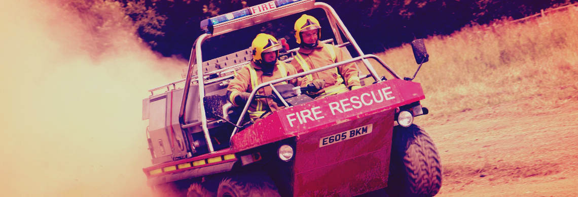 Off-road firefighting specialists